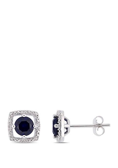 Belk & Co. 1.17 ct. t.w. Created Sapphire