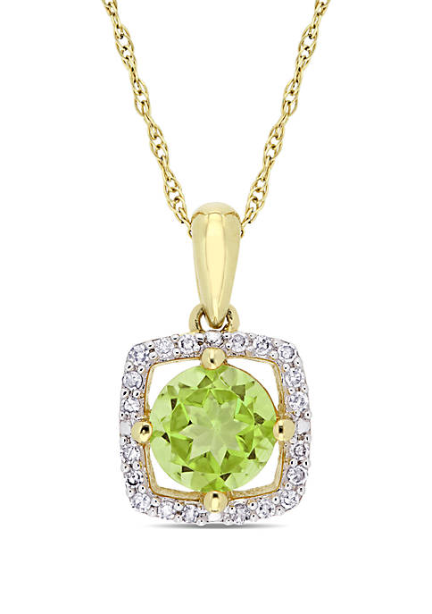 Belk & Co. 0.88 ct. t.w. Peridot and