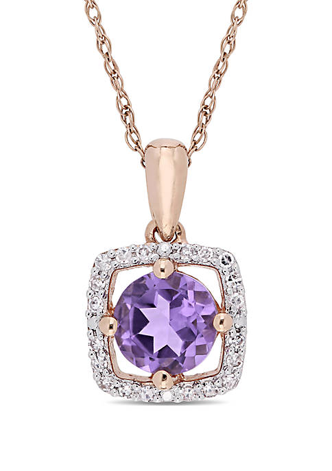 Belk & Co. 0.62 ct. t.w. Amethyst and