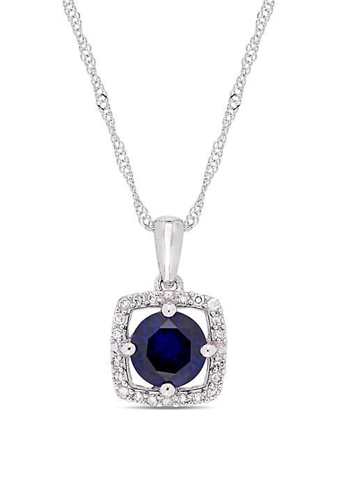 Belk & Co. 1 ct. t.w. Created Sapphire