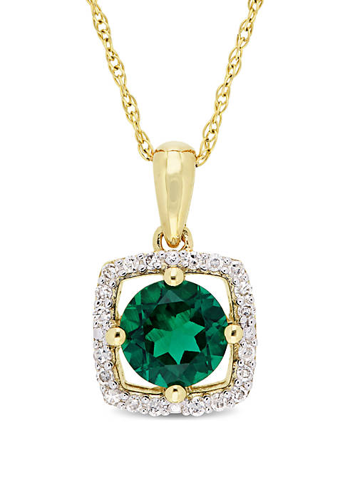 Belk & Co. 0.8 ct. t.w. Created Emerald