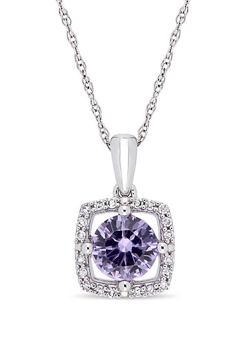 Belk & Co. 1 ct. t.w. Created Alexandrite