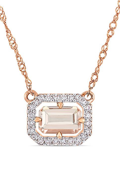 Belk & Co. 3/5 ct. t.w. Morganite and