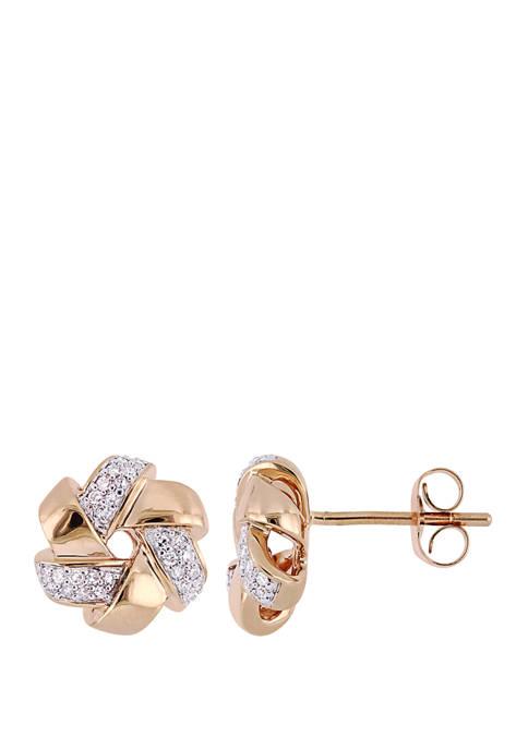 Belk & Co. 1/6 ct. t.w. Diamond Swirl