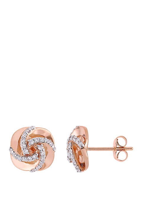 Belk & Co. 1/3 ct. t.w. Diamond Swirl