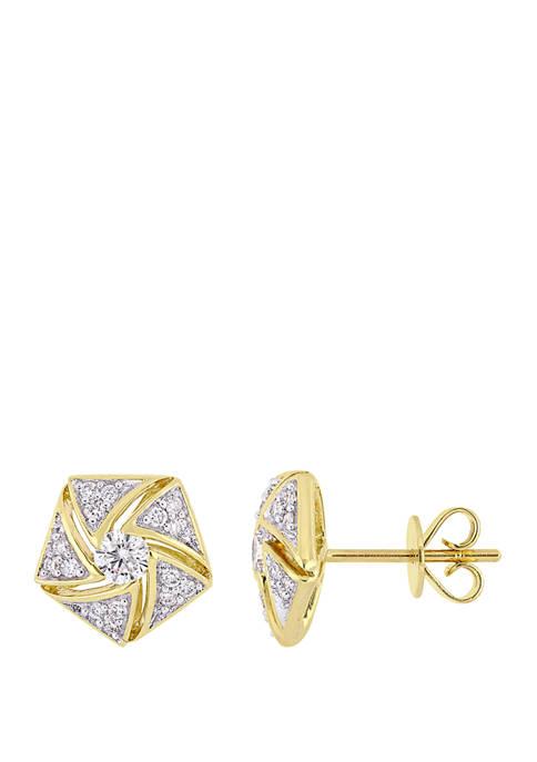 Belk & Co. 1/2 ct. t.w. Diamond Cluster