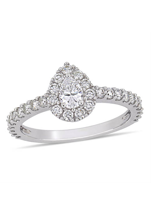 Belk & Co. 1 ct. t.w. Diamond Pear-Cut