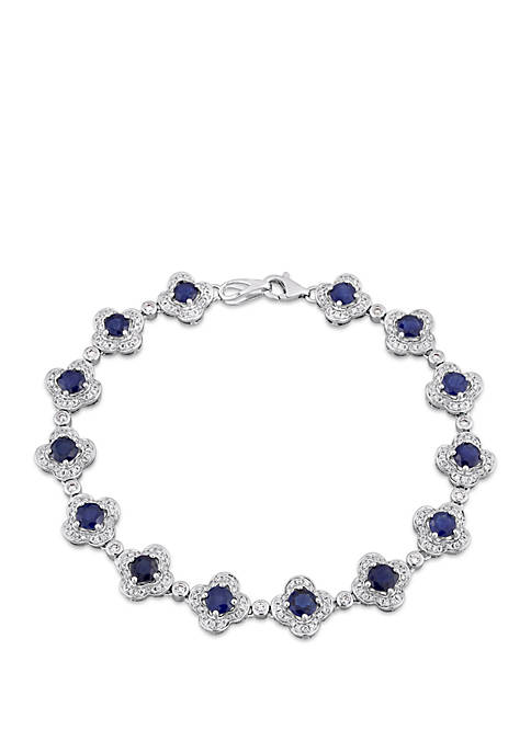 Belk & Co. 5.16 ct. t.w. Sapphire and