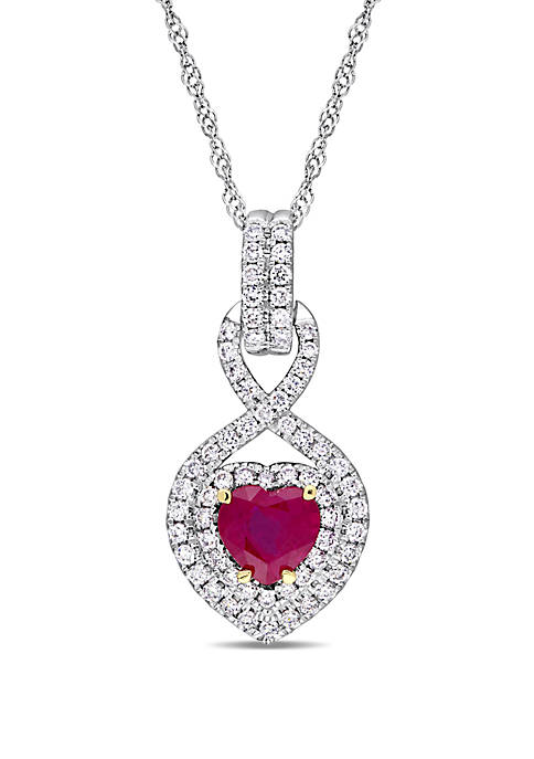 Belk & Co. 3/4 ct. t.w. Ruby and