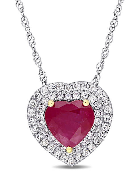Belk & Co. 1.4 ct. t.w. Ruby and