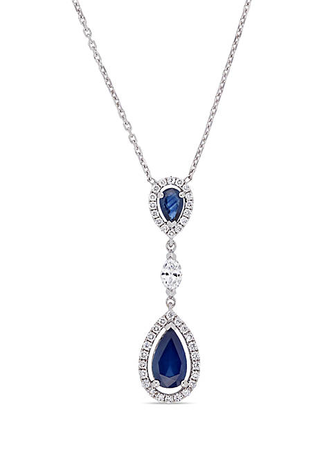 Belk & Co. 1.25 ct. t.w. Sapphire and