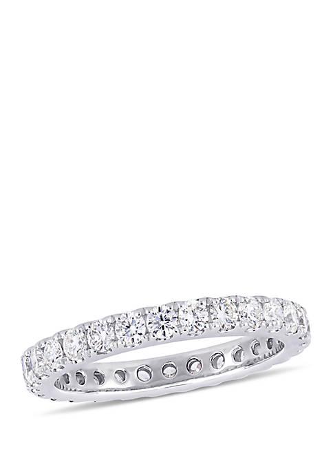 1.0 ct. t.w. Diamond Eternity Ring in 14k White Gold