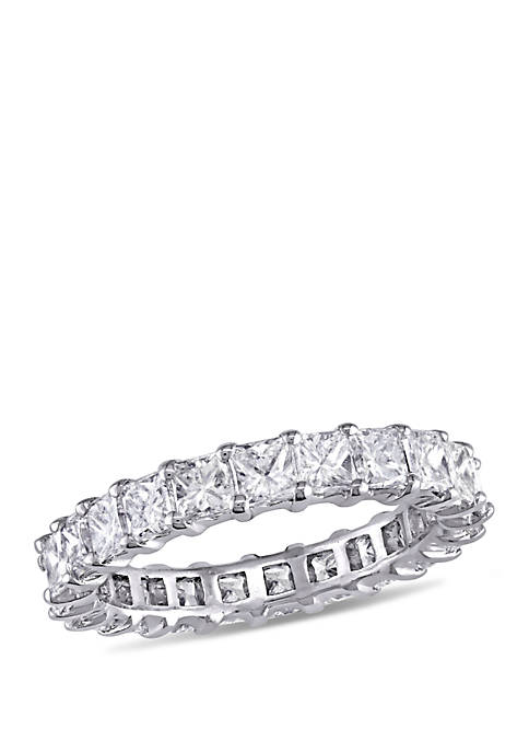 3.75 ct. t.w. Princess Cut Diamond Full Eternity Ring in 14k White Gold