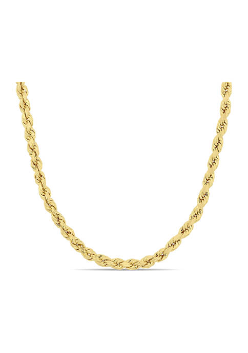 Belk & Co. 16 Inch Rope Chain Necklace