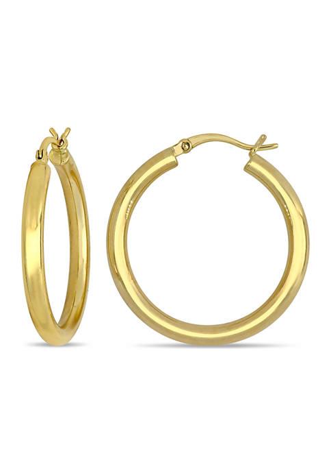 Belk & Co. 30 Millimeter Hoop Earrings in