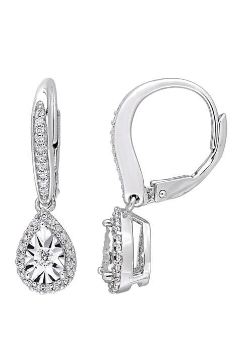 Belk & Co. 1/3 ct. t.w. Diamond Teardrop