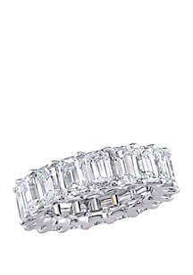 Belk & Co. 9.2 ct. t.w. Emerald Cut Diamond Full Eternity Band in Platinum