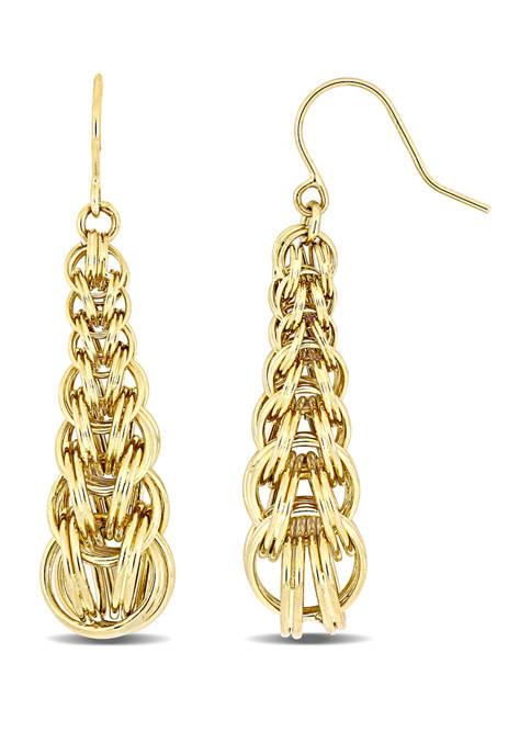 Belk & Co. Interlaced Drop Dangle Earrings in