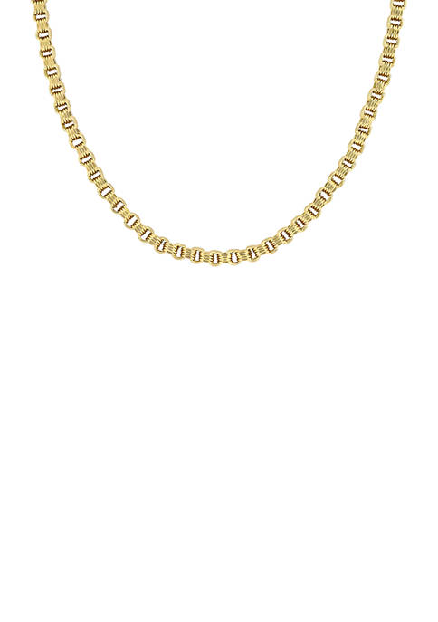 Belk & Co. 18 Inch Link Chain Necklace
