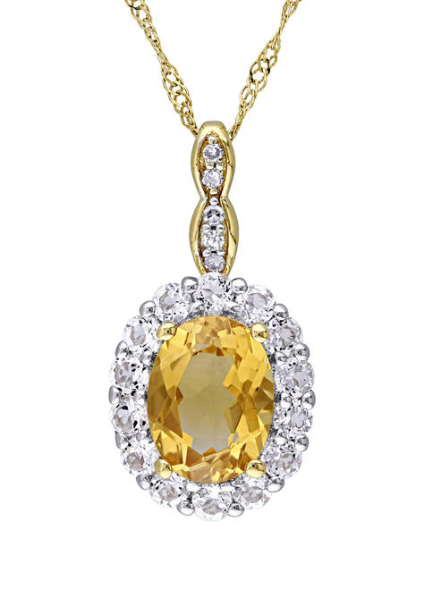 Belk & Co. 1 1/7 ct. t.w. Citrine,