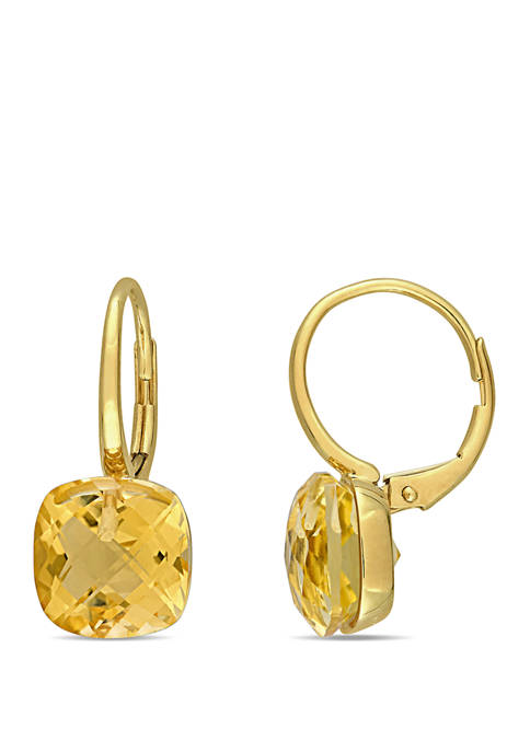 Belk & Co. 8 ct. t.w. Citrine Drop