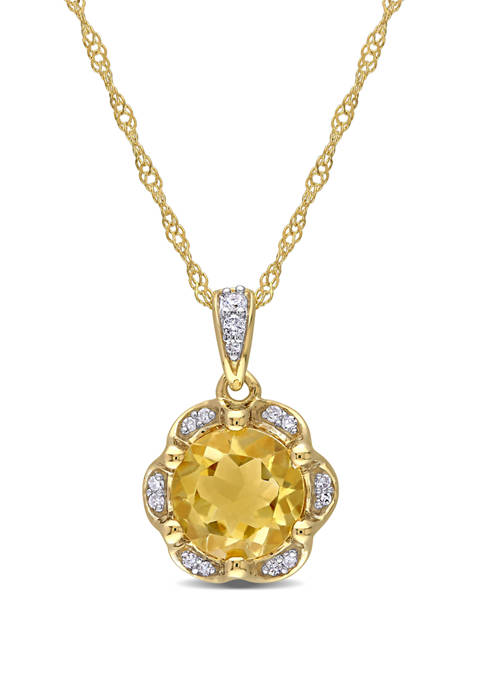 Belk & Co. 1.25 ct. t.w. Citrine and