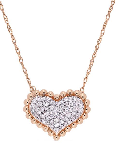 Belk & Co. 1/4 ct. t.w. Diamond Clustered