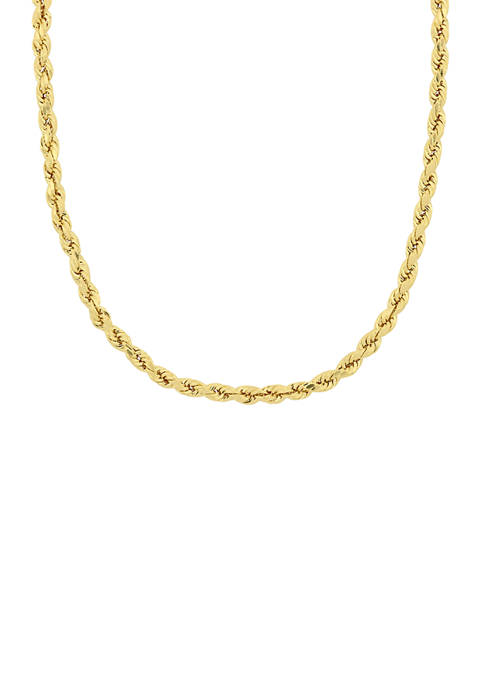 Belk & Co. 22 Inch Twist Rope Chain