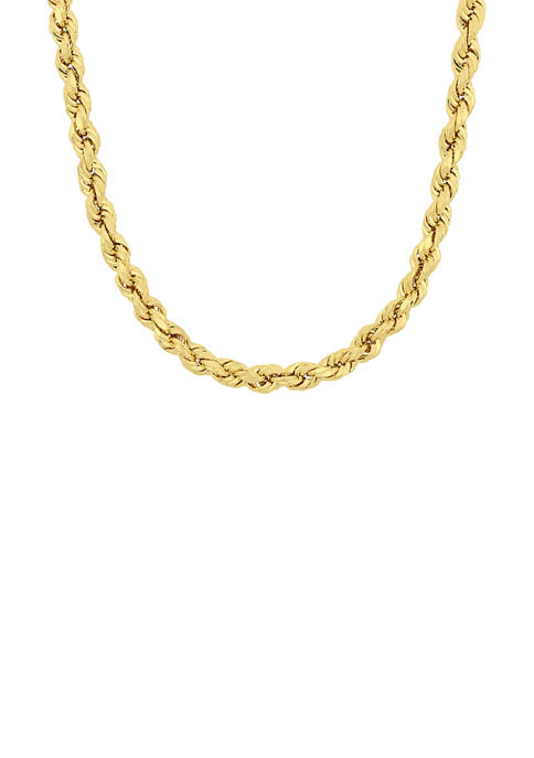 Belk & Co. 24 Inch Rope Chain Necklace