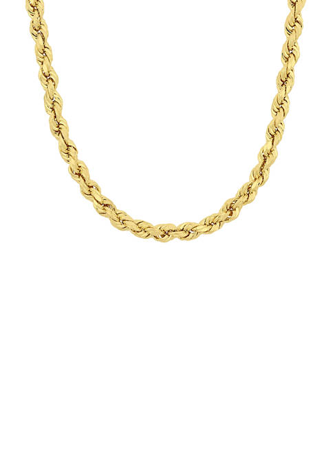 Belk & Co. 22-Inch Rope Chain Necklace in
