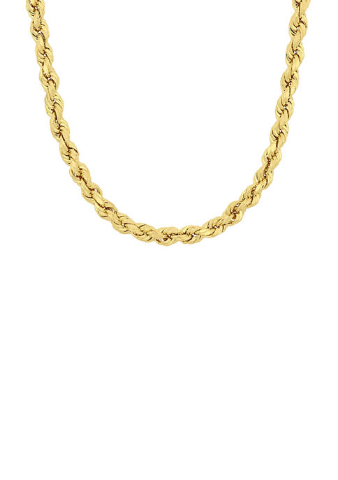 Belk & Co. 20 Inch Rope Chain Necklace