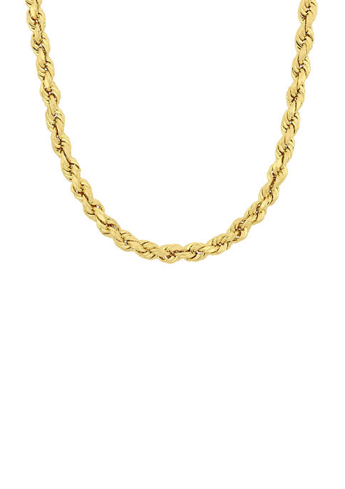 Belk & Co. 18 Inch Rope Chain Necklace
