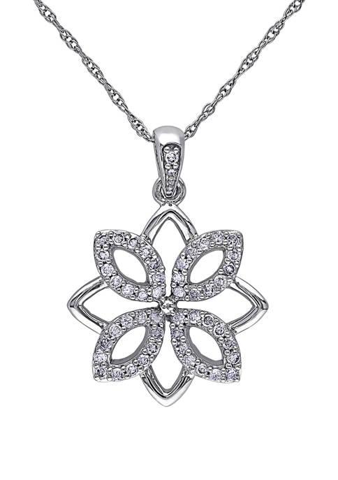 Belk & Co. 1/4 ct. t.w. Diamond Flower