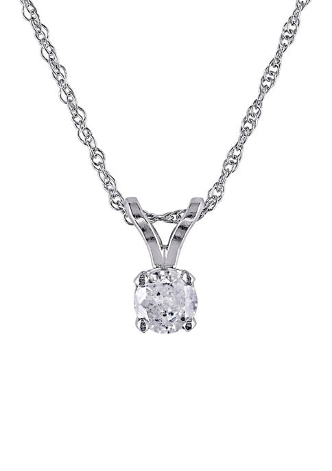 Belk & Co. 1/6 ct. t.w. Diamond Solitaire
