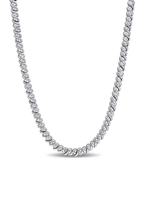 Belk & Co. 1 ct. t.w. Diamond Braided