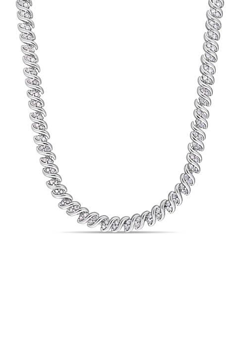 Belk & Co. 2 ct. t.w. Diamond Twist