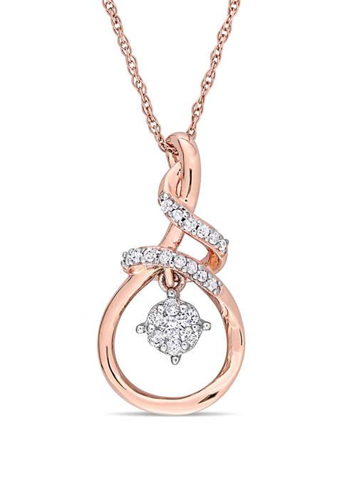 Belk & Co. 1/6 ct. t.w. Diamond Twist