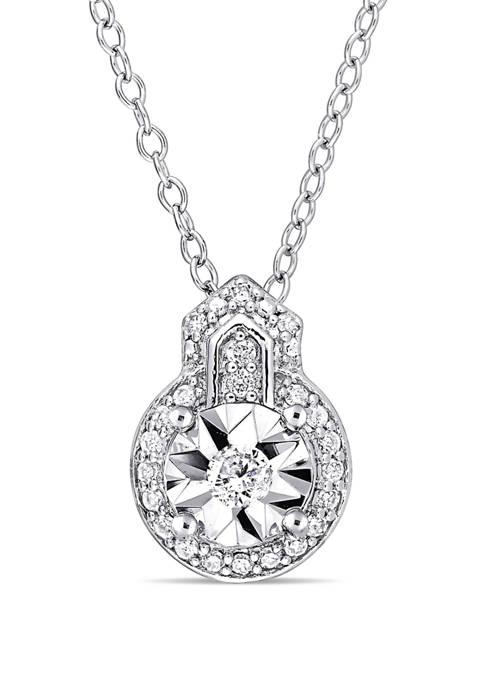 Belk & Co. 1/7 ct. t.w. Diamond Vintage