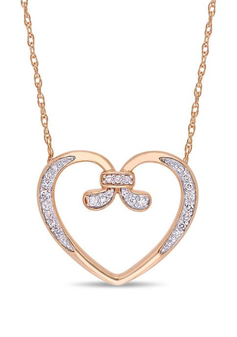 Belk & Co. 1/10 ct. t.w. Diamond Vintage