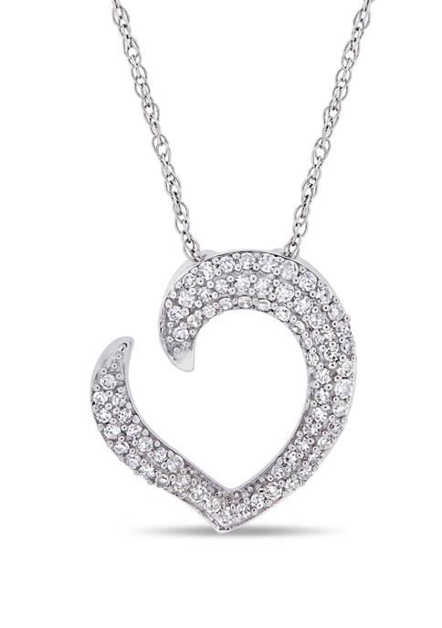 Belk & Co. 1/4 ct. t.w. Diamond Tilted