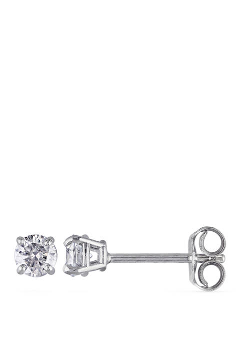 1/3 ct. t.w. Diamond Stud Earrings in Sterling Silver