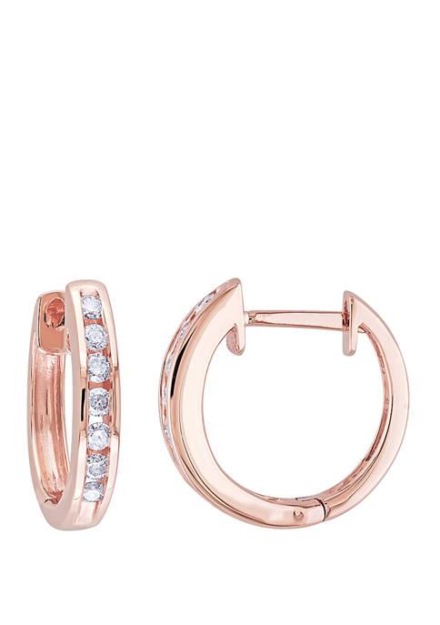Belk & Co. 1/4 ct. t.w. Diamond Hoop