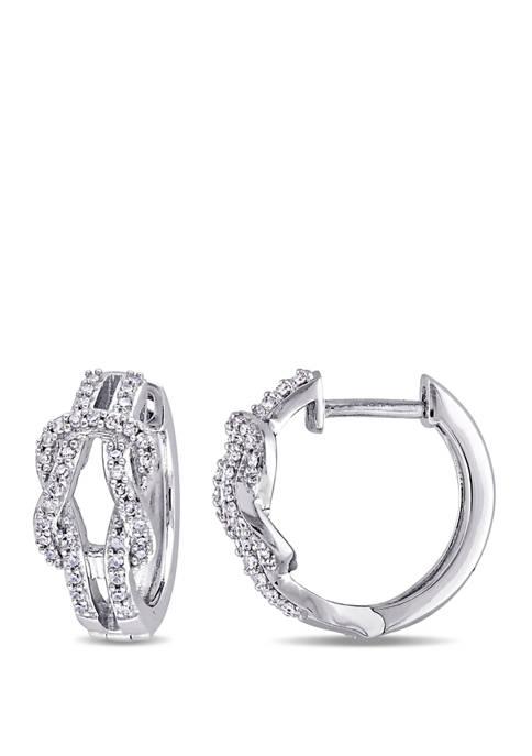 Belk & Co. 1/4 ct. t.w. Diamond Ribbon