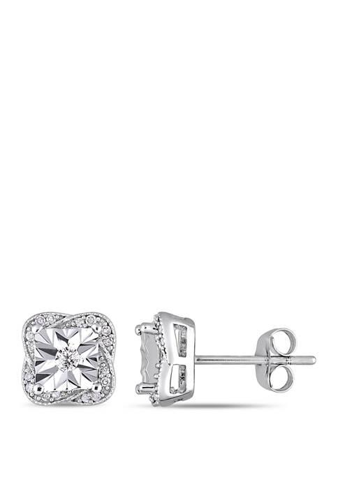Belk & Co. 1/6 ct. t.w. Diamond Stud
