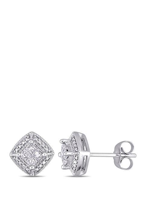Belk & Co. 1/4 ct. t.w. Diamond Cluster