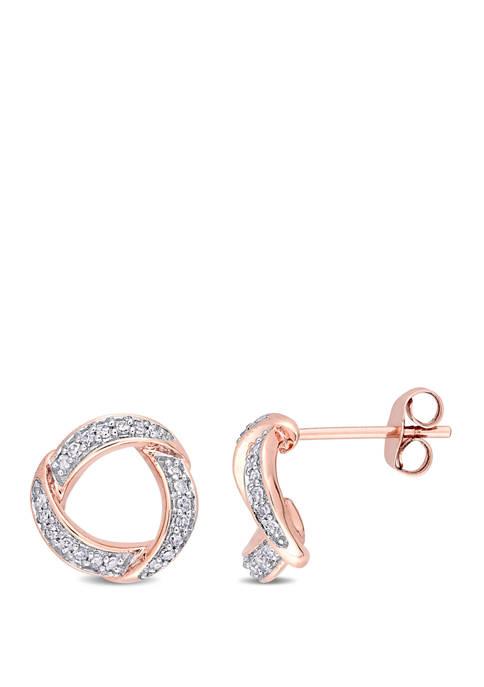 Belk & Co. 1/5 ct. t.w. Diamond Swirl