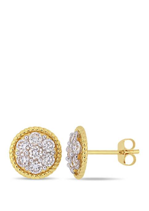 Belk & Co. 1 ct. t.w. Diamond Floral
