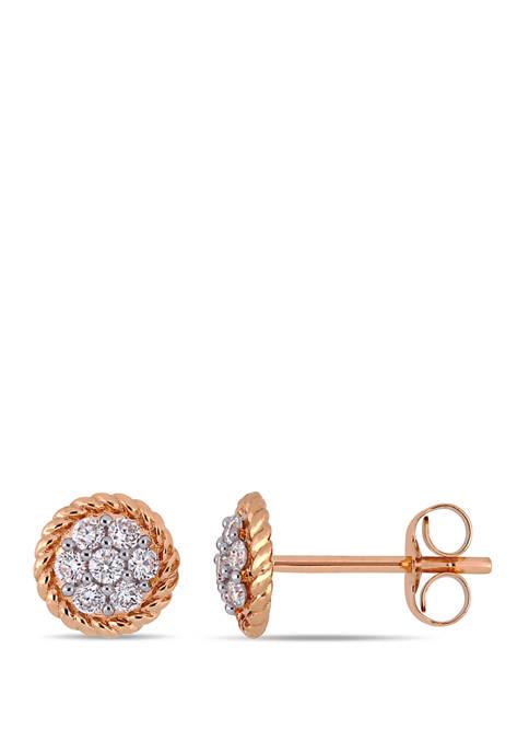 Belk & Co. 1/4 ct. t.w. Diamonds Floral