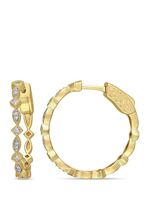 Belk & Co. 1/4 ct. t.w. Diamonds Geometric