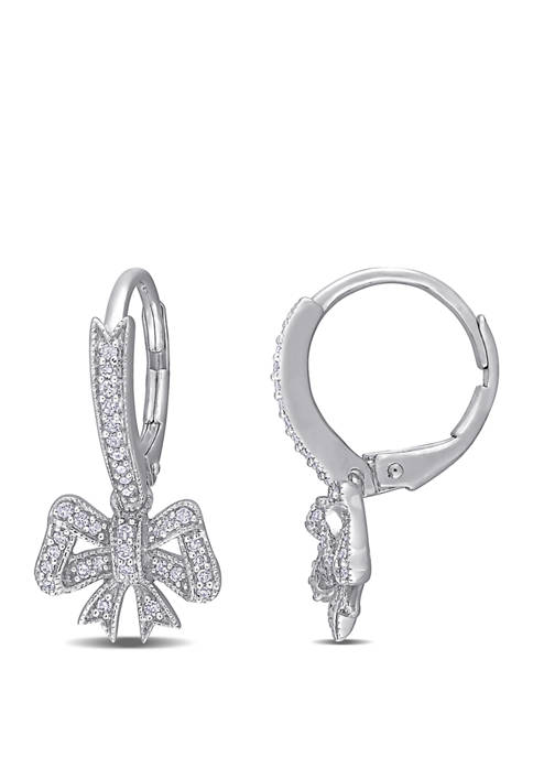 Belk & Co. 1/4 ct. t.w. Diamond Bow